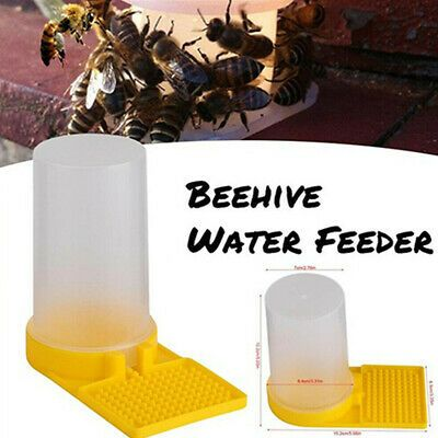 Plastic Bee Feeder Beehive Drinking Bowl Bee Keeping Drinking Nest Beekeeper Hot