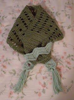 Boxy Neck Warmer Too free #crochet pattern