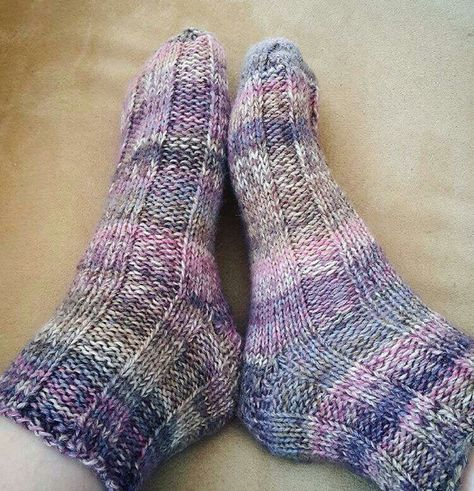Fast And Easy Bed Socks Video Tutorial How To Knit Socks Videos