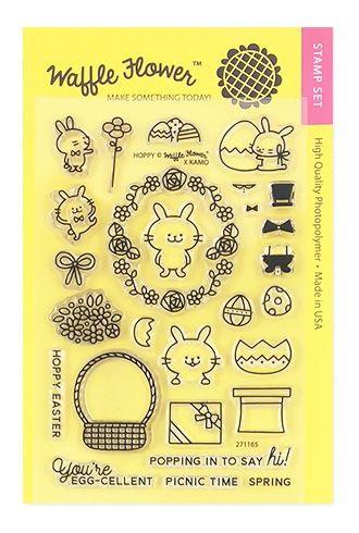 Waffle Flower Hoppy Clear Stamp Set 271165 At Simon Says Stamp Clear Stamps Stamp Set Stamp