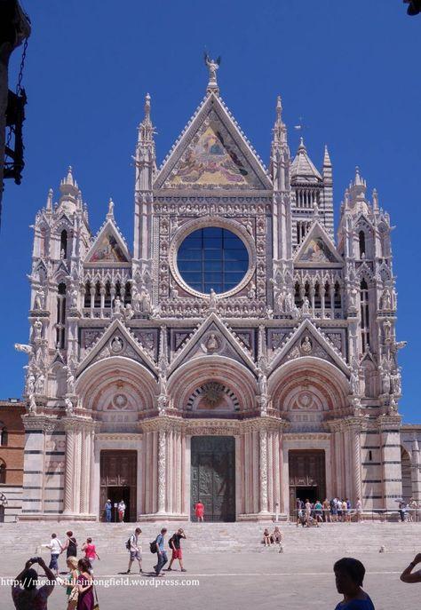 Beautiful Siena in Italy