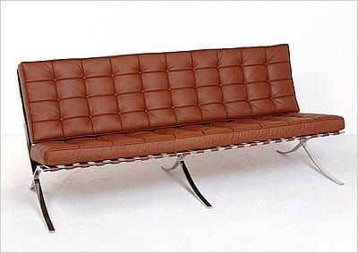 Prime Mies Style Exhibition Sofa Cocoa Brown Leather Modern Unemploymentrelief Wooden Chair Designs For Living Room Unemploymentrelieforg