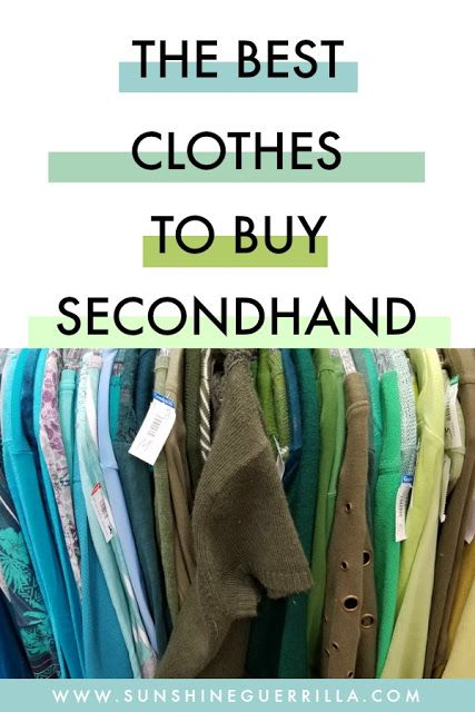 Sunshine Guerrilla The Best Clothes To Buy Secondhand Kids Clothing Brands List Cool Outfits Stuff To Buy