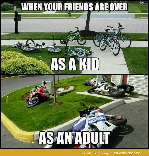 Awesome Moto bike photos are offered on our website. Bike Humor, Motorcycle Humor, Car Humor, Motorcycle Tips, Ninja Motorcycle, Truck Memes, Funny Car Memes, Really Funny Memes, Hilarious