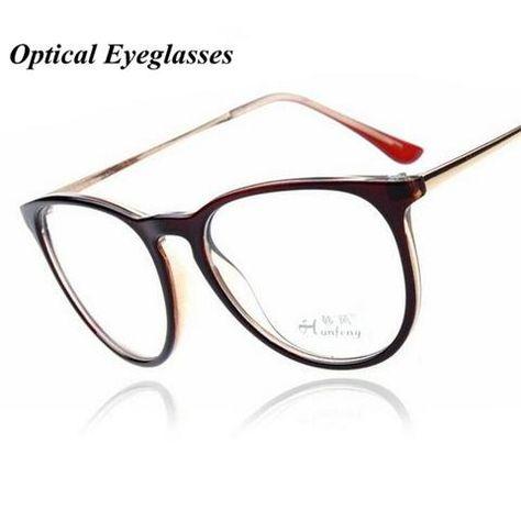 a96923d7c9ab Kottdo Fashion Retro Eyeglasses Men Women Vintage Metal Optical Transparent  Glasses Framemodlilj