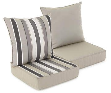 Deep Seat Patio Cushion Collection Big Lots Deep Seating Patio Cushions Outdoor Cushions