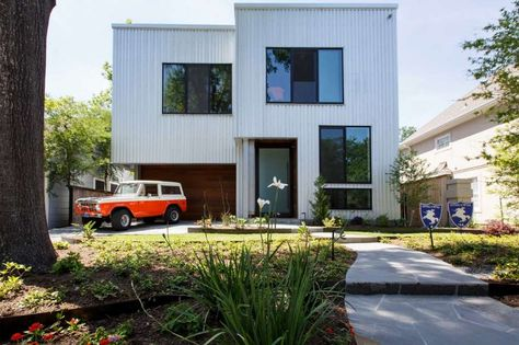 Metal houses the hottest trend in Houston homes