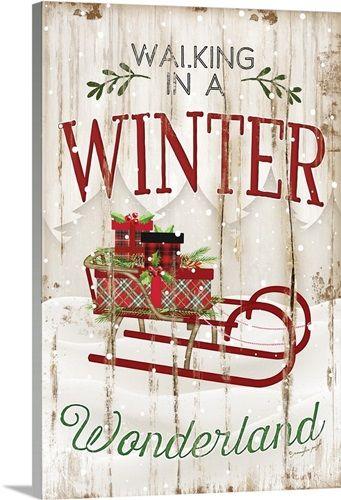 Winter Wonderland Christmas Words Christmas Paintings Christmas Signs