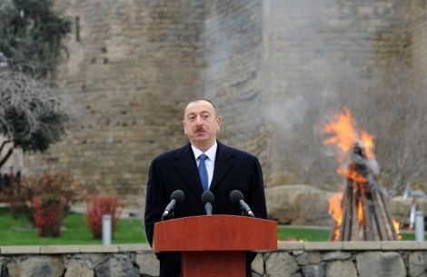 Fins Az Style Painting Ilham Aliyev