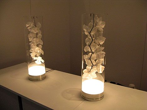 Orchid Cymbidium white table light Jeremy Cole porcelain contemporary lighting luxury bedside l& | For the Home | Pinterest | Orchid Porcelain and ... & Orchid Cymbidium white table light Jeremy Cole porcelain ... azcodes.com