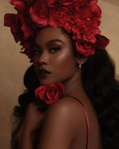 Black Girl Photo, Black Girl Art, Black Women Art, Beautiful Black Women, Black Girls, Black Women Beauty, Makeup Black Women, Black Makeup, Glam Photoshoot