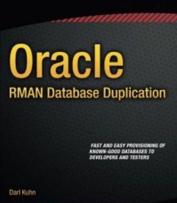 Oracle Rman Pdf