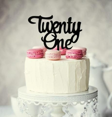 Fine Twentyone Topper Black With Images Happy Anniversary Cakes Funny Birthday Cards Online Alyptdamsfinfo