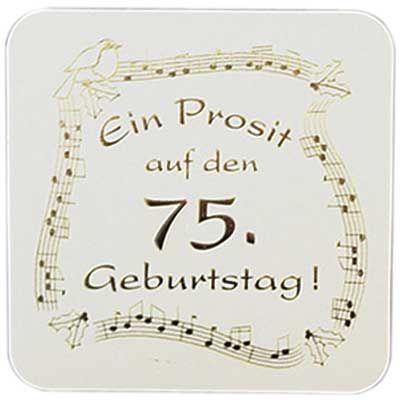 Geburtstagskarten Spruche Zum 75 Geburtstag Awesome