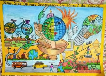 Painting Competition Art Energy Conservation Drawing