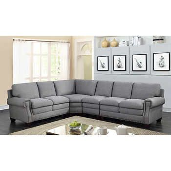 Astonishing Kenney 4 Piece Fabric Sectional In 2019 Living Room Ocoug Best Dining Table And Chair Ideas Images Ocougorg
