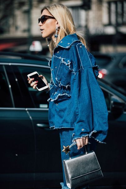 Denim Street Style: How The Street Style Gang Wear Denim | British Vogue