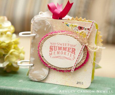 mini album aux couleurs de l'été