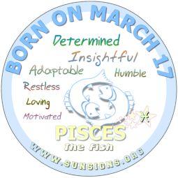 march 17 horoscope birthday