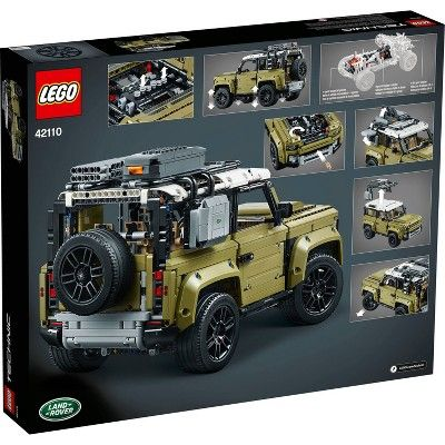 Lego Technic Land Rover Defender 42110 Lego Technic Land Rover