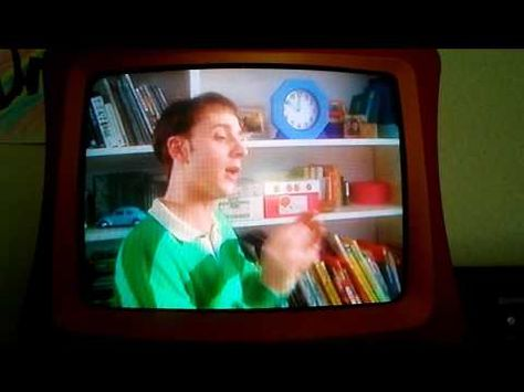 Opening Scene To Blues Clues Blues Birthday 1998 Vhs Youtube