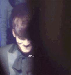 shy + happy jongdae when fans are screaming his name (3/4)