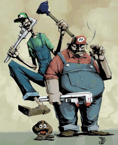 Super Mario Brothers    Created by Alexei Balashov