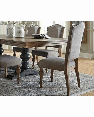 Dining Room Chair Images Unique Ashley Furniture Tanshire Dining Room Chair Set Of 2 By Ashley Homestore Brown From Ashley Homestore