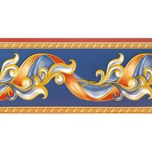 Dundee Deco Peel And Stick Abstract Red Yellow Stripe Yellow Vines Navy Blue Wallpaper Border Retro Design Roll 33 Ft X 4 In Self Adhesive In 2020 Retro Design Blue Wallpapers Wallpaper Border
