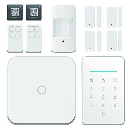 Wifi Alarm System Wireless Lan Wi Fi Gsm Cellular Smart Bushomeiness Security Alarm Diy Kits Alarm Alarm Systems For Home Home Security Systems Home Security