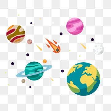 Planet Png Imagenes Transparentes Vectores Y Archivos Psd Descarga Gratuita En Pngtree In 2021 Solar System Clipart Planet Vector Solar System Planets