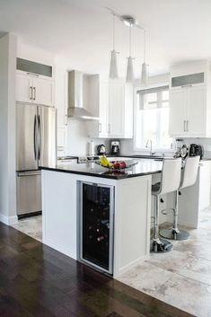 💘 83 Grey Kitchen Wood island - Tips to Designing It Look Luxurious 2474 #kitchendesign #kitchenideas  #kitchenisland