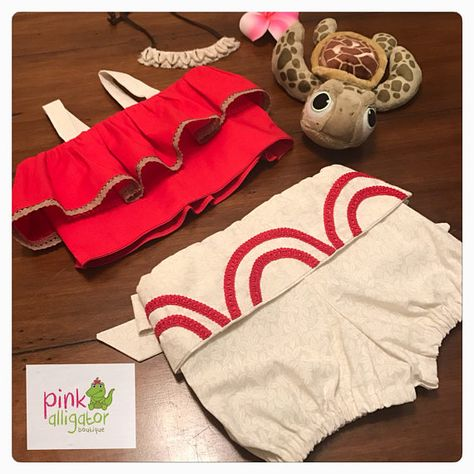 The Cutest Baby Toddler Moana Costume Outfit Dress Up  6m to