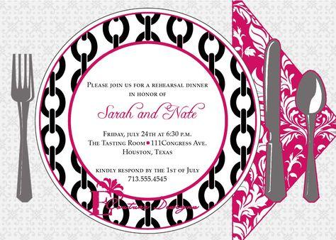 Dinner Invitation Template Invitation Templates Flowers - dinner party invitations templates
