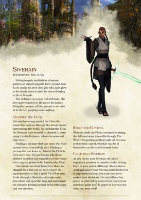 DnD 5e Homebrew — Siverain Class by TheKhanage | D&D Mats in 2019