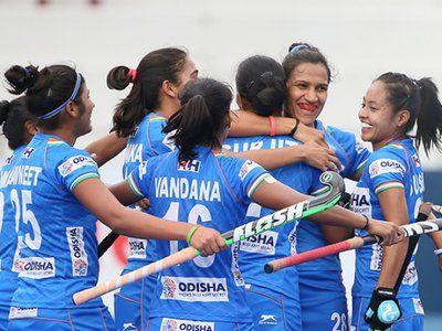 Fih Women S Series Indian Eves Win The Title Against Hosts Japan Women S Hockey Hockey Teams Hockey