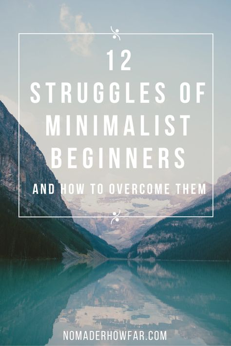 There's plenty of advice for ready and willing minimalists out there. But what about those who desperately want to embrace simpler living, but have several obstacles to move through before they can?