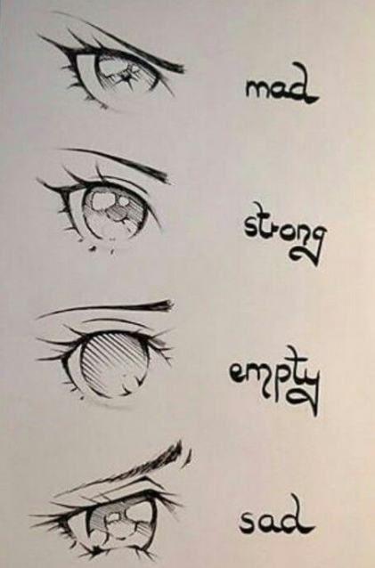41 Ideas Drawing Reference Manga Anime Eyes Anime Eye Drawing Anime Drawings Sketches Drawing Expressions