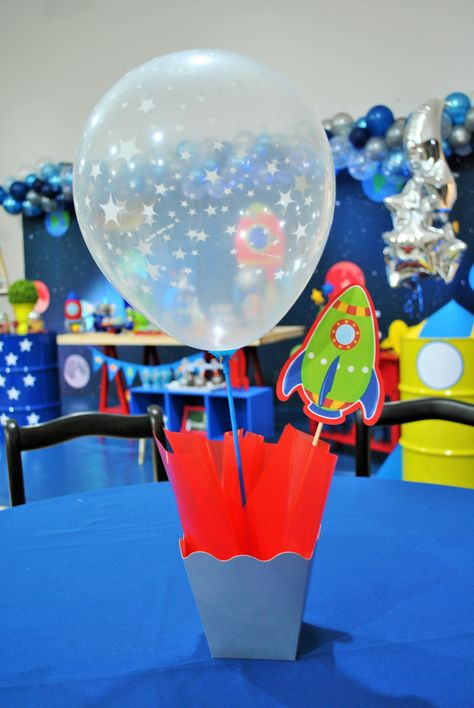 Solar System Cascade Centerpiece Table Decoration Classroom Space Birthday Party