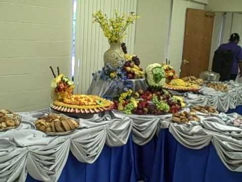 Fruit Display With Melon Carving Wedding Food Buffetbuffet Ideasbuffet Setbuffet Tabuffet