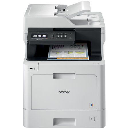 Brother Business Color Laser Multifunction All In One Printer Mfc L8610cdw Wireless Networking Automatic Duplex Printing Mobile Printing And Scanning Size 8 50 Inch X 14 Inch Multifunction Printer Brother Printers Printer