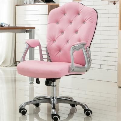 Computer Chair With Arms Ergonomic Swivel Chair C A Market Pink Desk Chair Pink Office Chair Best Office Chair
