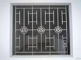 Wrought Iron Modern Window Grill Design Malaysia 8