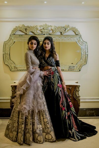An Elegant Hyderabad Wedding With Stunning Decor And Perfectly Coordinated Bride Groom Backless Wedding Dress Indian Wedding Outfits Indian Wedding Dress
