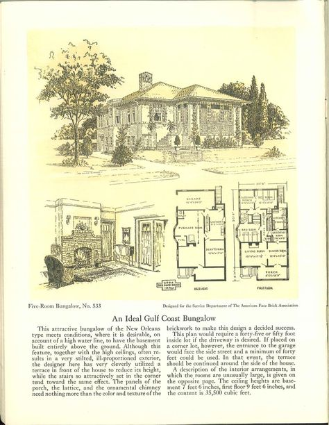 Five Room Face Brick Bungalow And Small House P 1926