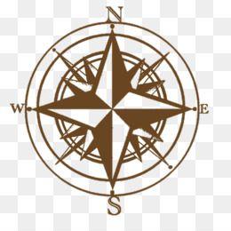 Compass Rose Simbol Arah Mata Angin Clip Art Kompas Panah Kompas Bingkai Gambar