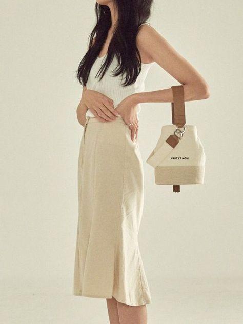 Nouer #Bucket #Bag #Cotton_BEIGE, #Bag #Bucket #CottonBEIGE #Nouer