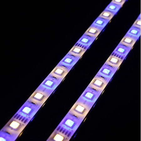 Newhouse Lighting 20 In Rgb Warm White 3000k Linkable Led Strip Light Kit 4 Strips Power Supply Remote And Connectors Included Walmart Com Led Strip Lighting Strip Lighting Led Light Strips