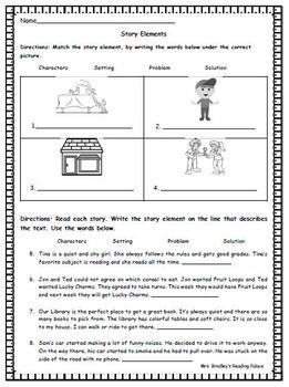 42++ Creative story elements worksheets 3rd grade info