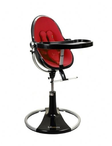 KIZCLUB Home Bloom Fresco Loft Highchair Black | Bloom
